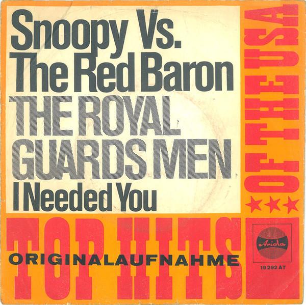 Bild The Royal Guardsmen - Snoopy Vs. The Red Baron (7, Single, Tex) Schallplatten Ankauf