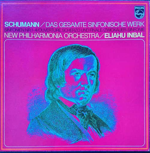Bild Robert Schumann, Eliahu Inbal, New Philharmonia Orchestra - Das Gesamte Sinfonische Werk (3xLP, Album) Schallplatten Ankauf