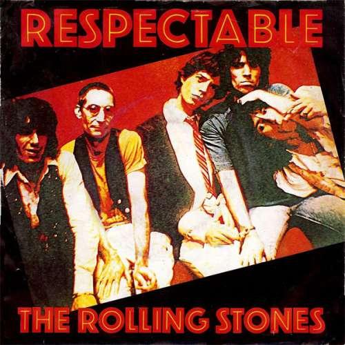 Cover The Rolling Stones - Respectable (7, Single) Schallplatten Ankauf