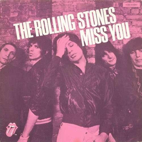 Cover The Rolling Stones - Miss You (12) Schallplatten Ankauf