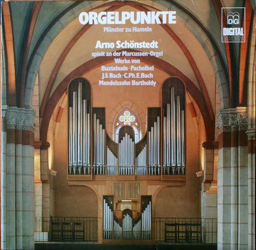 Cover Buxtehude*  •  Pachelbel*  •  J.S. Bach*  • C. Ph. E. Bach*  • Mendelssohn-Bartholdy* / Arno Schönstedt - Orgelpunkte Münstler St. Bonifatii Zu Hameln (LP) Schallplatten Ankauf