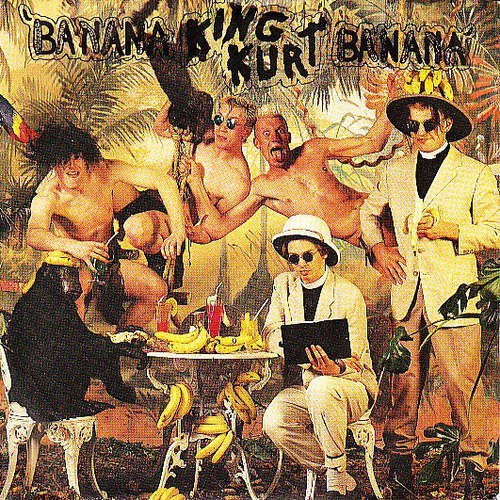 Cover King Kurt - Banana Banana (7, Single) Schallplatten Ankauf