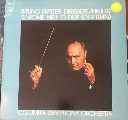 Cover zu Bruno Walter, Mahler*, Columbia Symphony Orchestra - Sinfonie Nr.1 D-Dur (Der Titan) (LP, Album, RE) Schallplatten Ankauf