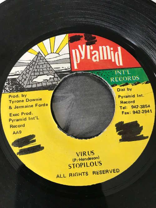 Cover Stopilous - Virus (7, Single) Schallplatten Ankauf