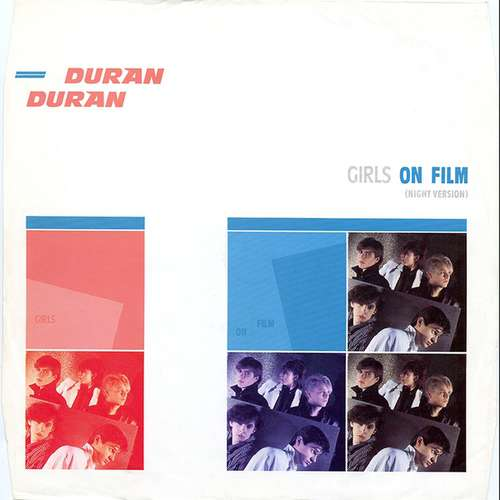 Cover Duran Duran - Girls On Film (Night Version) (12) Schallplatten Ankauf