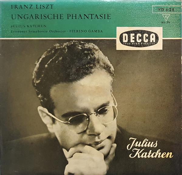 Bild Franz Liszt - Julius Katchen, Pierino Gamba, The London Symphony Orchestra - Ungarische Phantasie (7, Mono, Promo) Schallplatten Ankauf