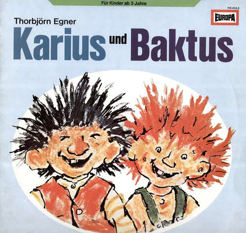 Bild Thorbjörn Egner* - Karius Und Baktus (LP) Schallplatten Ankauf