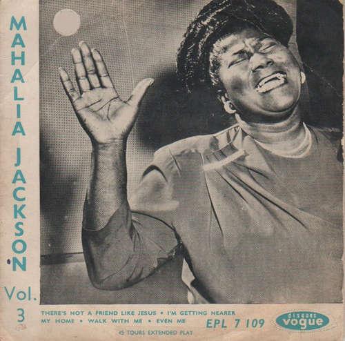 Bild Mahalia Jackson - Negro Spirituals Vol. 3 (7, EP) Schallplatten Ankauf