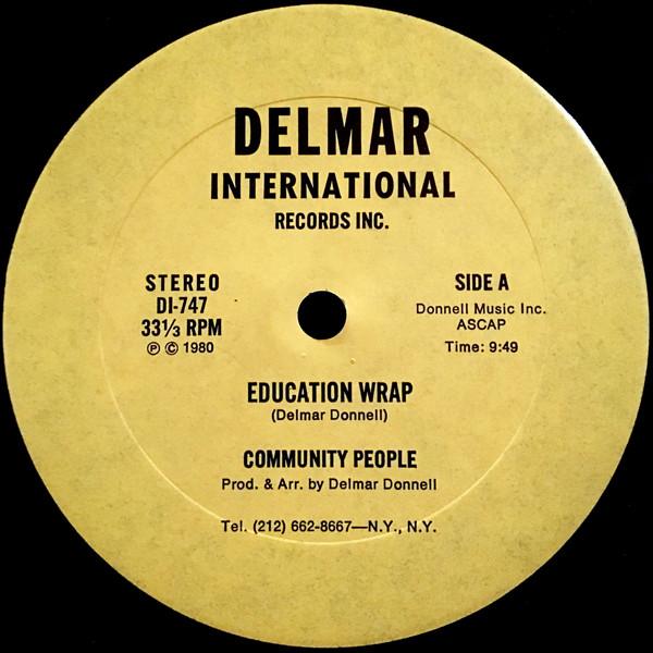 Cover zu Community People - Education Wrap (12) Schallplatten Ankauf