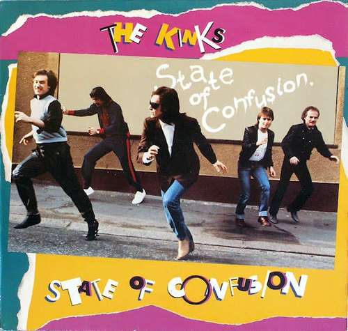 Cover The Kinks - State Of Confusion (LP, Album) Schallplatten Ankauf