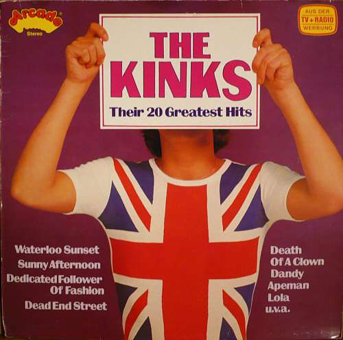 Cover The Kinks - Their 20 Greatest Hits (LP, Comp) Schallplatten Ankauf
