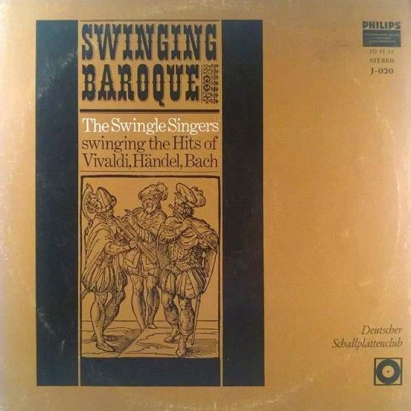 Cover The Swingle Singers* - Swinging Baroque (LP, Mono) Schallplatten Ankauf