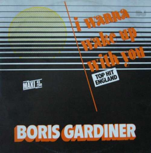 Cover zu Boris Gardiner - I Wanna Wake Up With You (12, Maxi) Schallplatten Ankauf