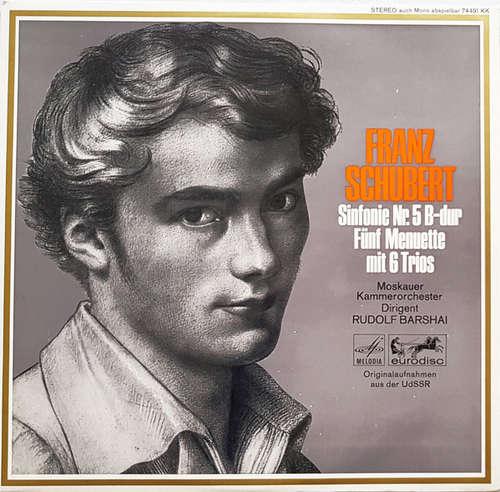 Bild Franz Schubert, Moskauer Kammerorchester*, Rudolf Barshai - Sinfonie Nr. 5 B-dur, Fünf Menuette Mit 6 Trios (LP) Schallplatten Ankauf