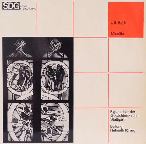 Cover J.S.Bach* - Figuralchor Der Gedächtniskirche Stuttgart, Helmuth Rilling - Choräle (LP) Schallplatten Ankauf