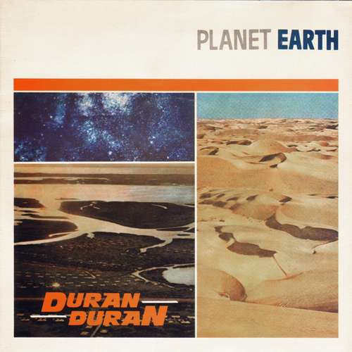 Cover Duran Duran - Planet Earth (7, Single, Blu) Schallplatten Ankauf