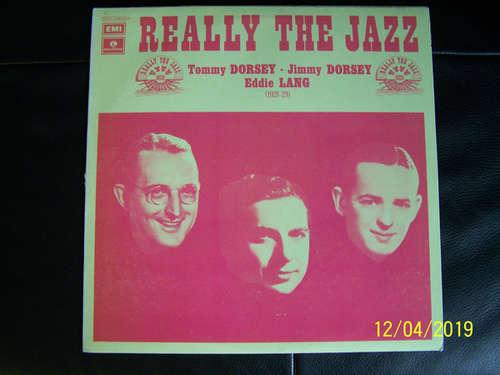 Cover Tommy Dorsey, Jimmy Dorsey, Eddie Lang - Tommy, Jimmy & Eddie, 1928-29 (LP, Comp, Mono) Schallplatten Ankauf
