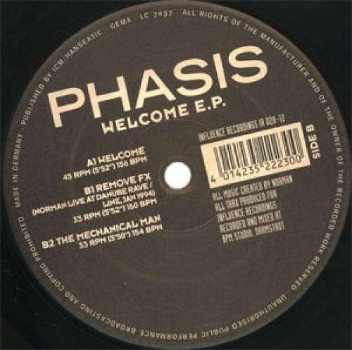 Bild Phasis - Welcome E.P. (12, EP) Schallplatten Ankauf