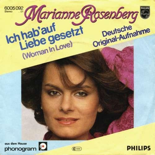 Bild Marianne Rosenberg - Ich Hab' Auf Liebe Gesetzt (Woman In Love) / Nur Sieger Stehn Im Licht (The Winner Takes It All) (7, Single) Schallplatten Ankauf