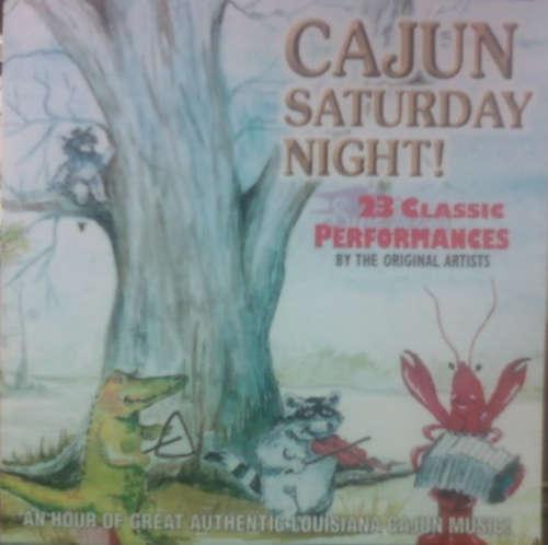 Cover Various - Cajun Saturday Night (CD, Comp) Schallplatten Ankauf