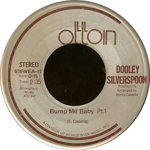 Bild Dooley Silverspoon - Bump Me Baby (7, Single) Schallplatten Ankauf