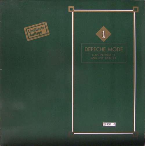 Cover Depeche Mode - Love In Itself · 2 And Live Tracks (12, Ltd, Num) Schallplatten Ankauf