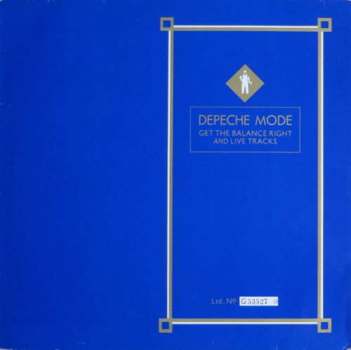 Cover Depeche Mode - Get The Balance Right And Live Tracks (12, Ltd, Num) Schallplatten Ankauf