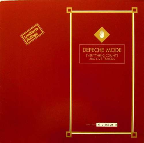 Cover Depeche Mode - Everything Counts And Live Tracks (12, Ltd, Num) Schallplatten Ankauf
