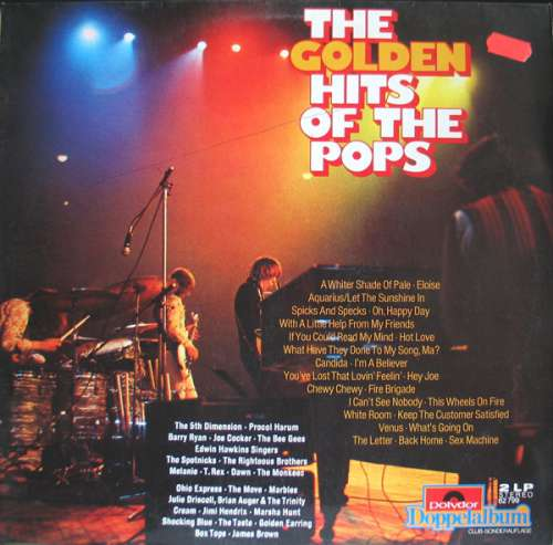 Cover Various - The Golden Hits Of The Pops (2xLP, Comp, S/Edition) Schallplatten Ankauf