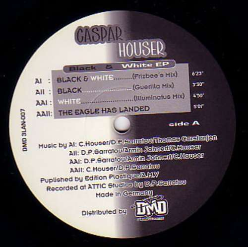 Cover zu Caspar Houser - Black & White EP (12, EP) Schallplatten Ankauf