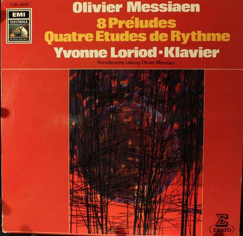 Bild Olivier Messiaen, Yvonne Loriod - 8 Préludes / Quatre Etudes De Rythme (LP) Schallplatten Ankauf