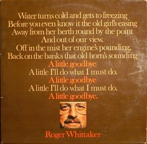 Bild Roger Whittaker - A Little Goodbye (LP, Album) Schallplatten Ankauf