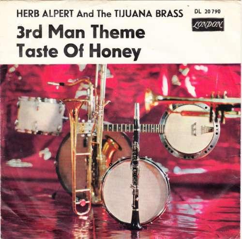 Cover Herb Alpert And The Tijuana Brass* - 3rd Man Theme / Taste Of Honey (7, Single, Mono) Schallplatten Ankauf