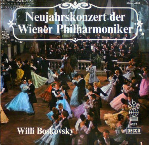 Cover Willi Boskovsky / Wiener Philharmoniker - Neujahrskonzert Der Wiener Philharmoniker (LP, Club) Schallplatten Ankauf