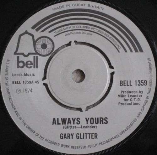 Bild Gary Glitter - Always Yours (7, Single) Schallplatten Ankauf