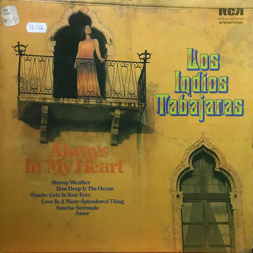 Cover Los Indios Tabajaras - Always In My Heart (LP) Schallplatten Ankauf