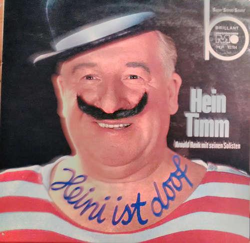 Cover Hein Timm, Arnold Renk Und Seine Solisten - Heini Ist Doof (LP, Album) Schallplatten Ankauf