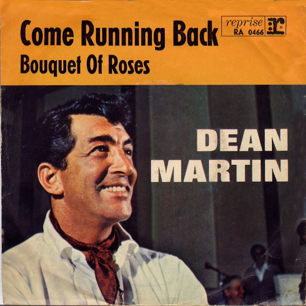 Cover Dean Martin - Come Running Back / Bouquet Of Roses (7, Single) Schallplatten Ankauf