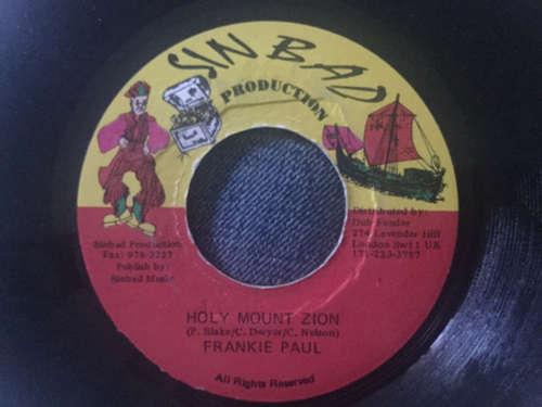 Bild Frankie Paul - Holy Mount Zion (7, Single) Schallplatten Ankauf