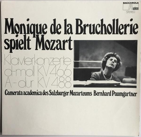 Cover zu Monique de la Bruchollerie Spielt Mozart*, Camerata Academica Des Salzburger Mozarteums*, Bernhard Paumgartner - Klavierkonzerte D-moll KV 466 / A-dur KV 488 (LP, Album, Club) Schallplatten Ankauf