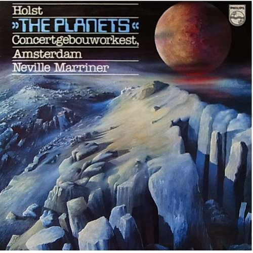 Cover zu Holst*, Concertgebouworkest, Amsterdam*, Neville Marriner* - The Planets (LP) Schallplatten Ankauf