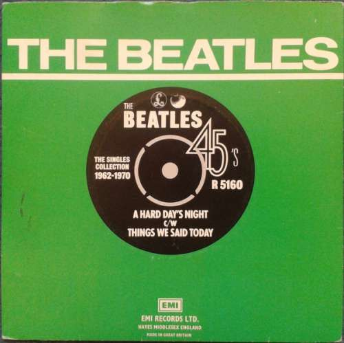 Cover Beatles, The - A Hard Day's Night / Things We Said Today (7, Single, RE) Schallplatten Ankauf