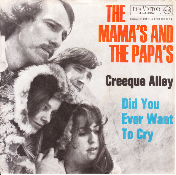 Bild The Mamas And The Papas* - Creeque Alley / Did You Ever Want To Cry (7, Single) Schallplatten Ankauf