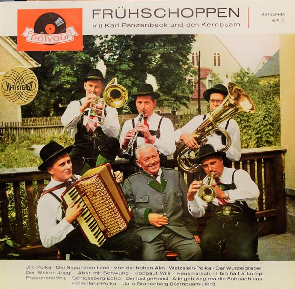 Cover Karl Panzenbeck, Kernbuam* - Frühschoppen Mit Karl Panzenbeck Und Den Kernbuam (LP, RE) Schallplatten Ankauf