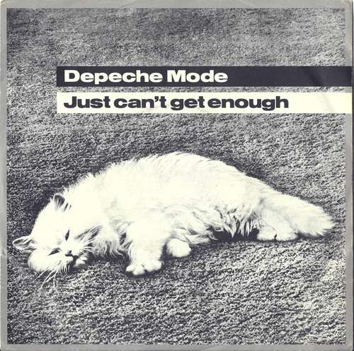 Cover Depeche Mode - Just Can't Get Enough (7, Single) Schallplatten Ankauf