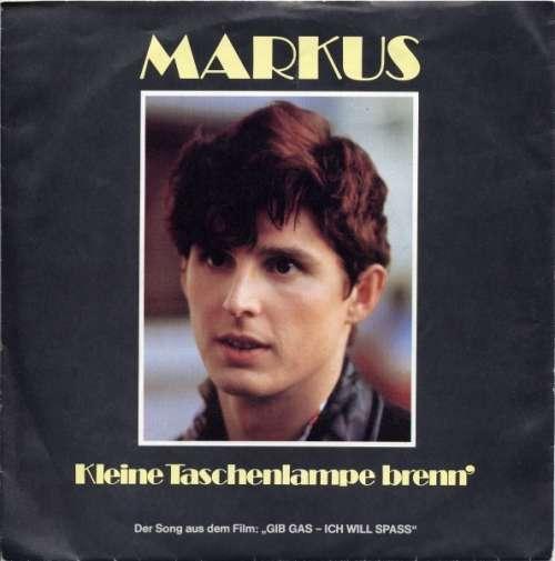 Cover zu Markus (6) - Kleine Taschenlampe Brenn' (7, Single) Schallplatten Ankauf