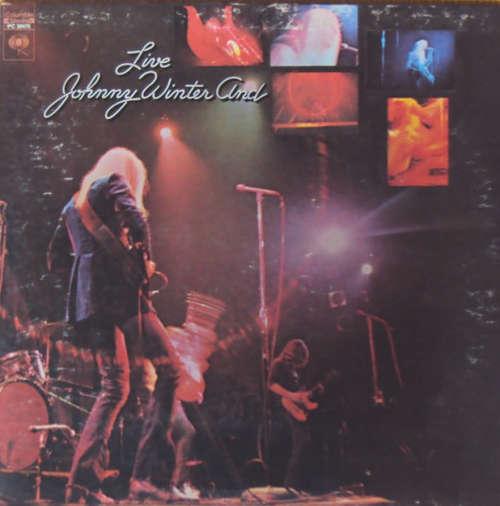 Cover zu Johnny Winter And - Live Johnny Winter And (LP, Album, RE, Gat) Schallplatten Ankauf