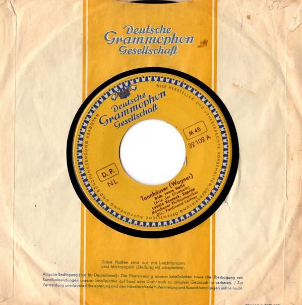 Bild Leonie Rysanek - Tannhäuser  (7) Schallplatten Ankauf