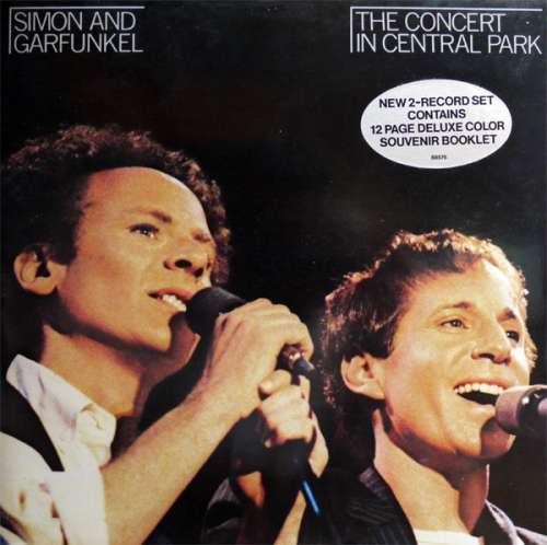 Cover zu Simon And Garfunkel* - The Concert In Central Park (2xLP, Album, Gat) Schallplatten Ankauf