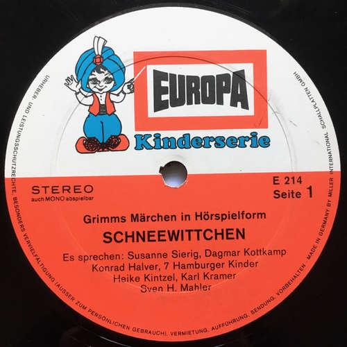 Bild Gebrüder Grimm - Schneewittchen / Der Wolf Und Die Sieben Jungen Geisslein (LP) Schallplatten Ankauf